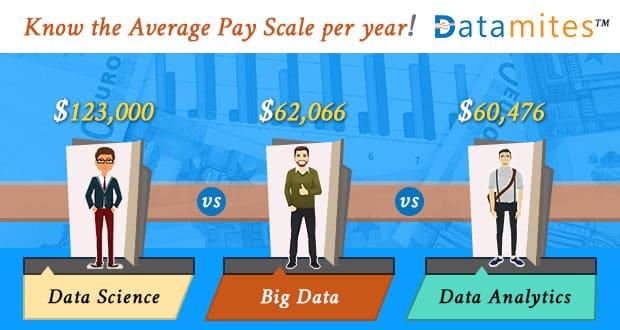 Data Science Vs Big Data Vs Data Analytics-Pay-Scale