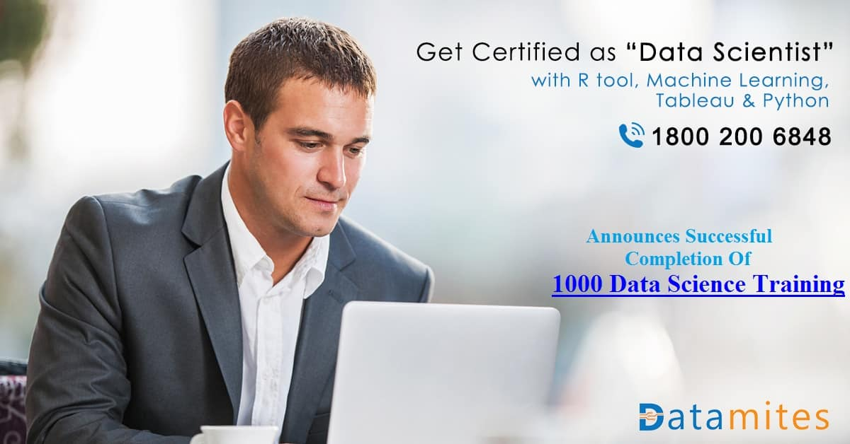 Datamites™ Announces Successful Completion Of 1000 Data Science Training