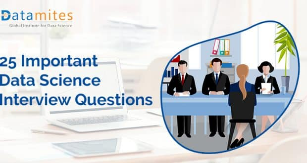 Important Data Science Interview Questions Part 1