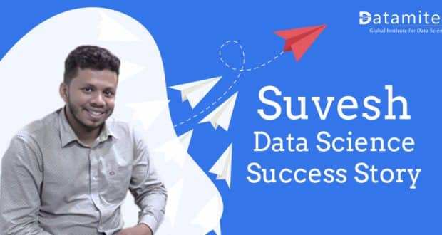 Mr Suvesh Data Science Success Story