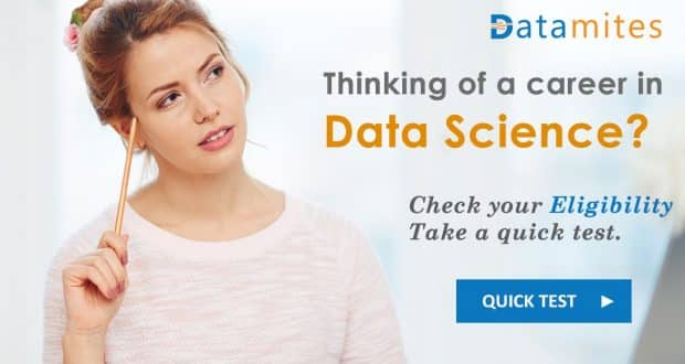 Data Science Eligibility Test